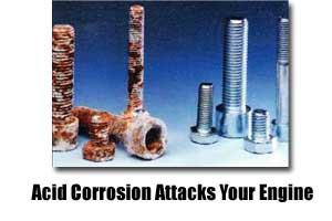 acid corrosion attack