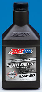 Amsoil synthetic motor oil 5w20 for How long does synthetic motor oil last